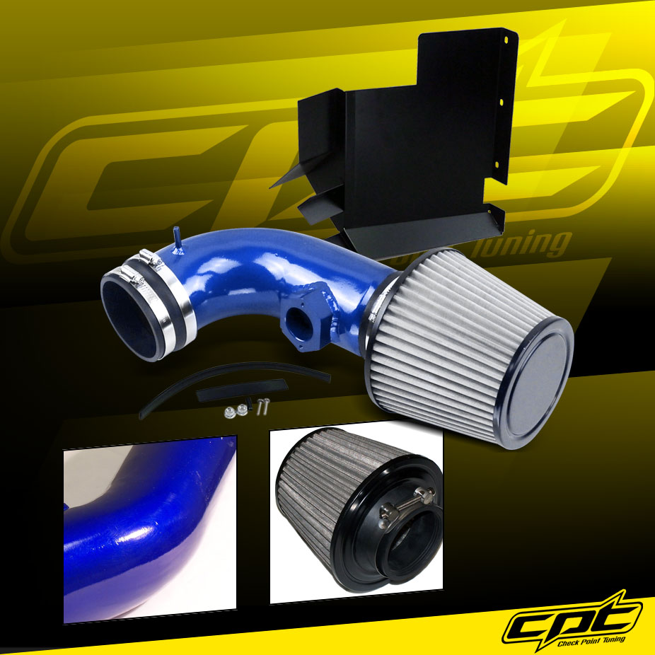 07-12 BMW 328i E90/E92/E93 3.0L 6cyl Blue Cold Air Intake