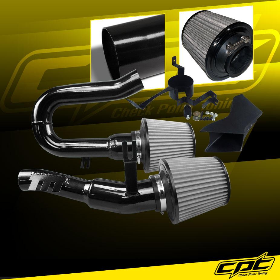 07-10 BMW 335i 3.0L L6 E90/E92/E93 Black Cold Air Intake
