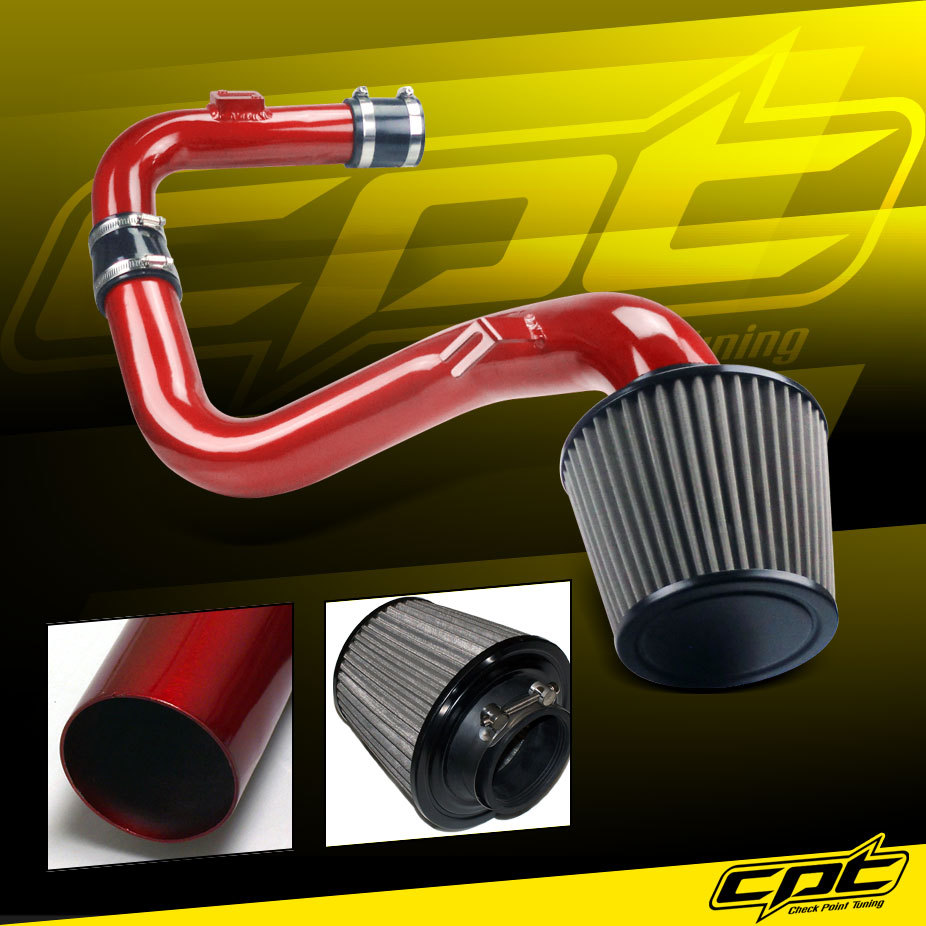 06 09 vw golf gti turbo 2 0t 2 0l red cold air intake. Black Bedroom Furniture Sets. Home Design Ideas